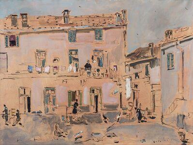 Filippo De Pisis, 'Corte a Brugherio', 1952