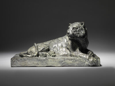 Mark Coreth, '12. Siberian Tiger, reclining ', 2018