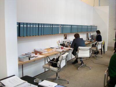 Luis Molina-Pantin, 'Chelsea galleries - Blue period (Anton Kern)', 2001 -2006
