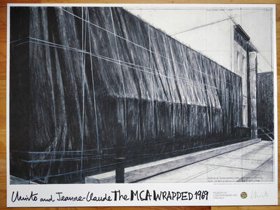 Christo, 'The Wrapped Museum of Contemporary Art (MCA) Chicago, 1969', 2019