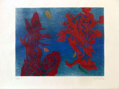 Gustave Singier, 'Aquathème ', 1973