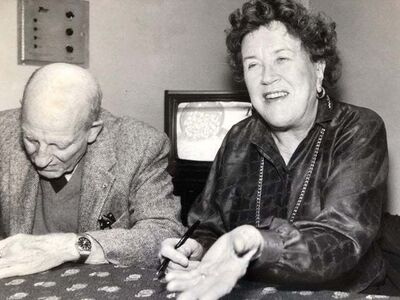 Unknown, 'Vintage Silver Gelatin Photograph Print Chef Julia Child Photo from Archive ', 20th Century