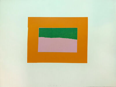 Howard Hodgkin, 'Indian Views – Plate B', 1971