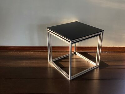 Poul Kjærholm, 'PK 71 Nesting Table (EKC)', before 1982 (designed 1957)