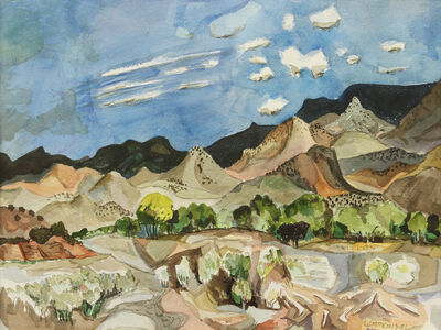 William Thomas Lumpkins, 'Near Abiqui', 1981