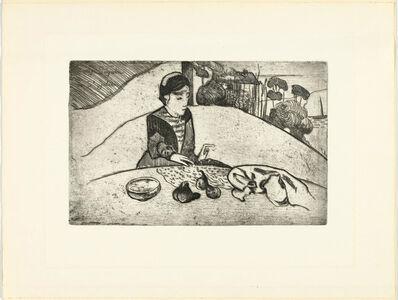 Paul Gauguin, 'La femme aux figures', 1984-1950