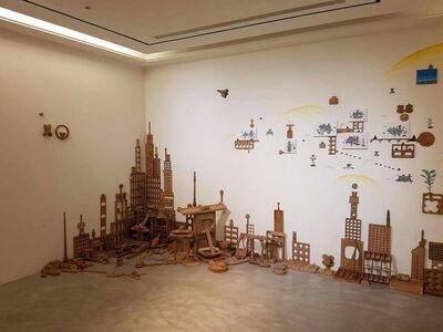 Shu-Kai Lin, 'Balcony City Series-The Quotation of Building Block Urban', 2017