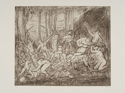 Leon Kossoff, 'The Triumph of Pan No. 4', 1998