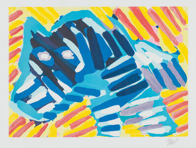 Karel Appel, 'Bull Dog (Plate 5 from Ten by Appel Portfolio)', 1979