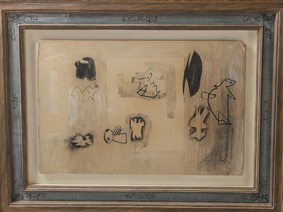 Henry Moore, 'Original Henry Moore O.M., C.H. Studies for Sculpture 1936', 1963