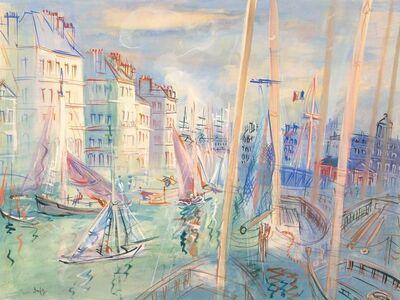 Jean Dufy, 'Le Quai Videcoq au Havre, circa', 1938-40