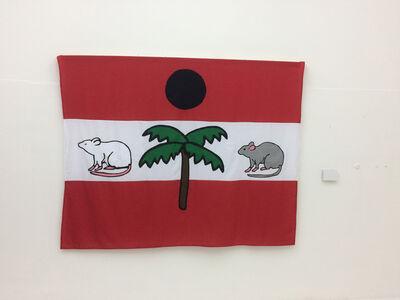 Yuyyu Puleston, 'Flag 3', 2017