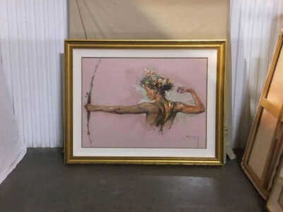 Royo Eter, 'Royo Eter Oil Painting Signed Impressionist Contemporary Art', 1998