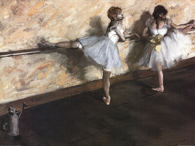 Edgar Degas, 'Dancers Practicing at the Barre', ca. 2000
