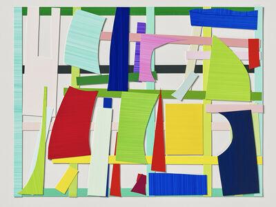 Imi Knoebel, 'Gartenbild 17 Ed. ', 2008-2016