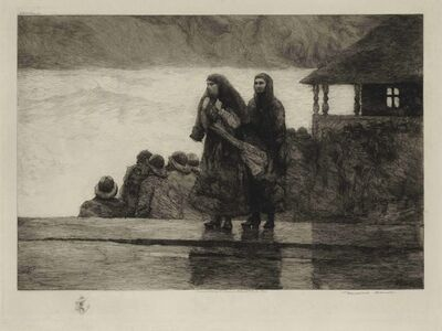 Winslow Homer, 'Perils of the Sea', 1888