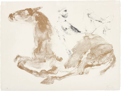 Elisabeth Frink, 'Man and Horse I', 1971