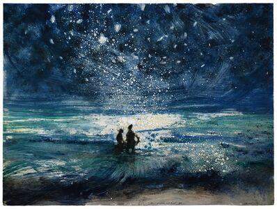 Bill Jacklin, 'Stars and Sea at Night XV', 2016