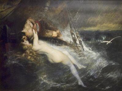 Gustav Wertheimer, 'The Kiss of the Siren', 1882