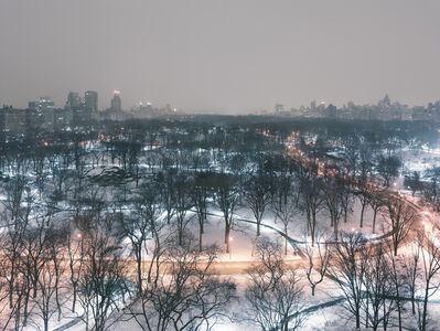 Josef Hoflehner, 'Central Park (Winter Night), Manhattan, New York', 2014
