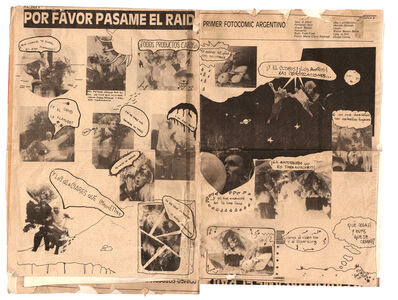Batato Barea, 'Por favor pasame el Raid. (First Argentine photo-comic).', 1987