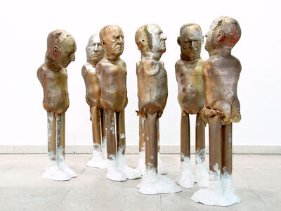 Enrique Marty, 'Untitled (Fall of the idols)', 2014-2015