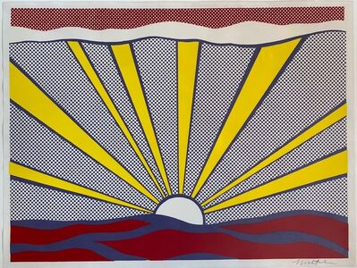 Roy Lichtenstein, 'Sunrise', 1965