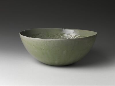 Unknown Chinese, 'Bowl with Dragons among Waves', 10th century