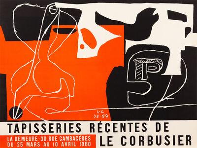 Le Corbusier, 'Tapisseries Recentes de Le Corbusier', 1960