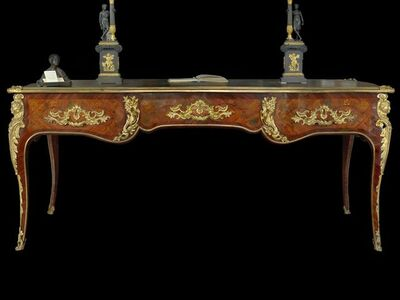 Unknown Artist, 'French centre desk, in excellent state of preservation, Louis XV period (1745).', ca. 1745