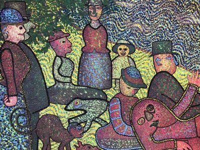Enrico Baj, 'D'apres la Grande Jatte', 1973