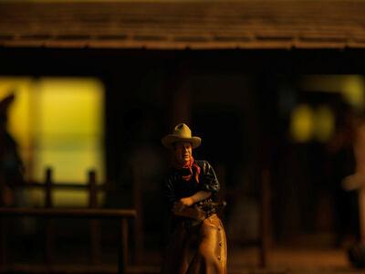 David Levinthal, 'History, John Wayne', 2015