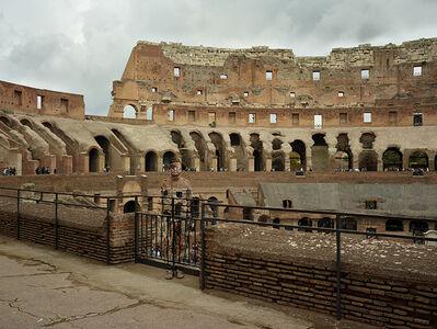 Liu Bolin, 'Hiding in Italy - Colosseo No.1', 2017