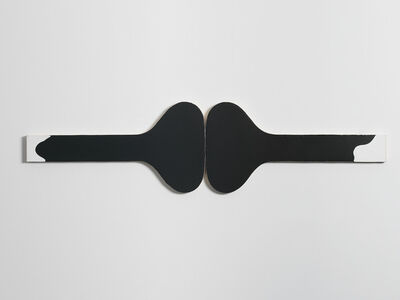 Gary Kuehn, 'Black Painting', 2015