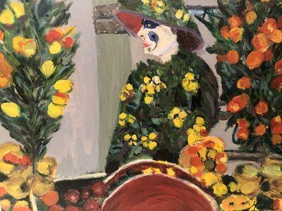 Marjorie Magid, 'Barcelona Flower Lady', 2015