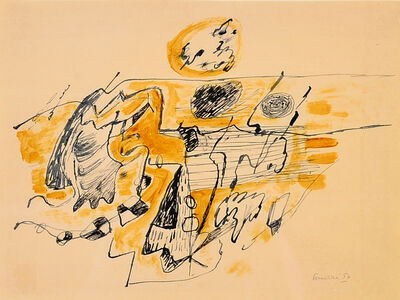 Corneille, 'Composition', 1954