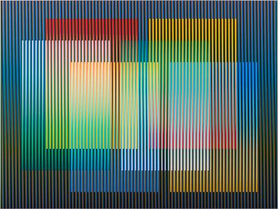 Carlos Cruz-Diez, 'Color aditivo Panam 3', 2010