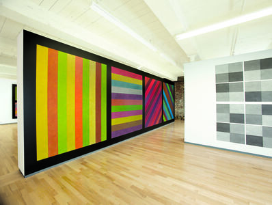 Sol LeWitt, 'Wall Drawings #681 C and #414 ', 1993