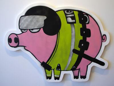 Mau Mau, 'Riot Pig 1', 2017