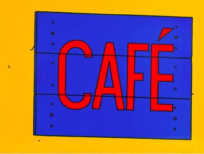 Patrick Caulfield, 'Cafe', 1968