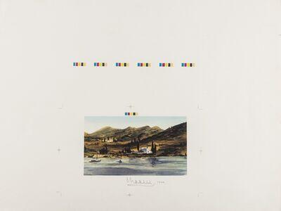 HRH Prince of Wales, 'Greek Island Fishing Boats', 1999