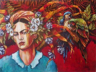 Jean Jacques Hudon, 'Frida e les Perroquets'