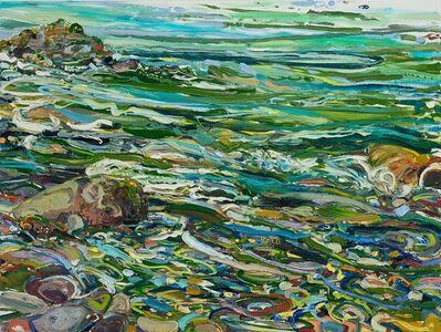 Lilian Garcia-Roig, 'Cumulative Nature: Forest & Teal Green Rapids', 2019