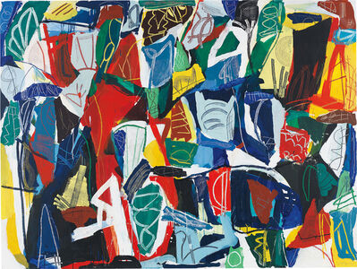 Jan Voss, 'Abstract Composition', 1996