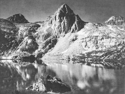 Ansel Adams, 'Rae Lakes in Kings River Sierra', 1939