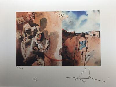 Salvador Dalí, 'Surrealistic scene', 1988