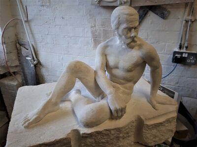 James Kirby, 'Male Nude', 2020