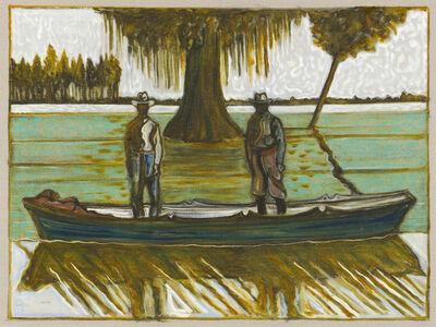 Billy Childish, 'Beneath a great Cypress Trees', 2017