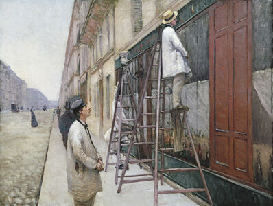 Gustave Caillebotte, 'Study for House Painters ', 1877