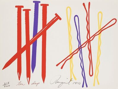 James Rosenquist, 'Ten Days', 1973